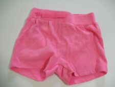 OKIE DOKIE 9 MONTH GIRLS PINK SHORTS (GENTLY PREOWNED)