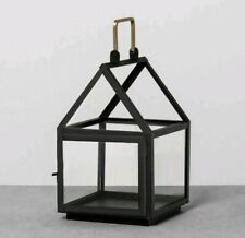 New House Small Lantern  Hearth & Hand with Magnolia Black Powder Finish