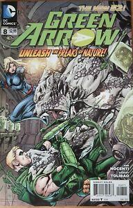 Green Arrow #8 DC Comics