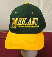 MIDLAND MUSTANGS embroidery High School baseball hat Arkansas cap OG snapback