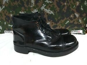 British Army Military Drill / Ammunition Parade Dress Combat Tapped Boots - 9 L