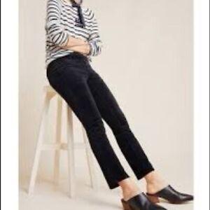 ANTHROPOLOGIE Pilcro & the Letterpress High Rise Skinny Corduroy Pants Size 27
