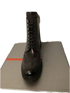 Prada Wingtip Boots Women's Size 40