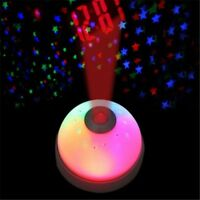 Hot Magic Digital LED Projection Alarm Clock Starry Night Color Changing