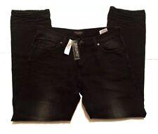 NWT Banana Republic Men Straight Leg whiskering Fading Jean.Size 30x32 Black $80