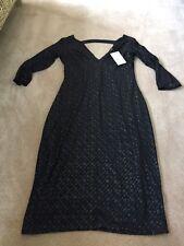 BNWT Quiz Black Glitz Dress - Size 10 - £29.99