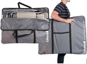 Lafuma Carrying Case Transport Bag Recliners + Siesta Sunbed L 83x102cm Grey