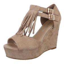Fransen Damen-Pumps mit sehr hohem Absatz (größer als 8 cm) Sandaletten