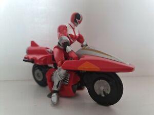 Power Rangers In Space Red Galaxy Bike Motorbike Bandai 1997 Toy Figure
