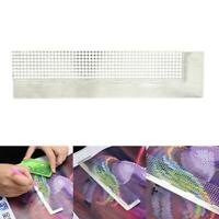 5D DIY Diamond Painting Tools Stainless Steel Ruler with Up To 400 Blank Grid