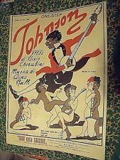 SPARTITO MUSICALE - JOHNSON - ANNO 1924