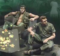 1/35 Resin Figure Model Kit US Soldiers Vietnam War Unpainted Unassambled