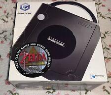 Vintage Gamecube Zelda EMPTY CONSOLE BOX ONLY Manuals Inserts Nintendo Cube