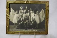 WWI Antique Original 1918 KNIGHTS OF COLUMBUS War Camp Vaudeville Photograph