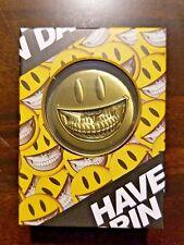SDCC Ron English Popaganda Enamel Grin Coin Limited Edition PopLife