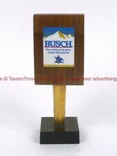 Scarce 1980s Anheuser Busch Beer 5¾ inch wood Tap Handle Tavern Trove