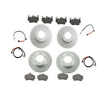 Friction Brake Kit Porsche Boxster-S Rotors,Pads,Wear Sensor,Font & Rear