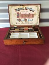 ANTIQUE REEVES WATERCOLOUR BOX Complete C 1900
