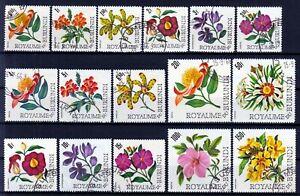 BURUNDI 1966 ☀ Flora / flowers ☀ 16v used