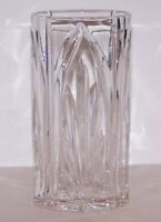 """STUNNING SIGNED WATERFORD CRYSTAL BEAUTIFULLY CUT 6"""" OVAL VASE"""