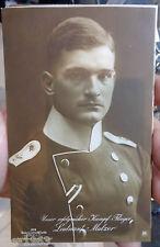 original Sanke  Flieger Foto AK  379 Leutnant Mulzer
