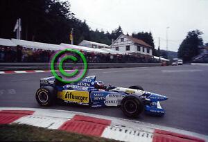 RACING Original 35mm Slide Michael Schumacher - Benetton 1995 Belgium Formula 1