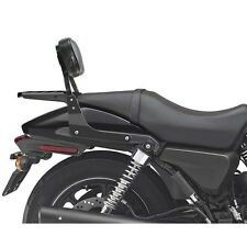 Schienalino sissybar basso nero portapacchi Harley Davidson Street 750 1096bne