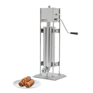 ALDKitchen Churro Maker | Vertical Type | Stainless Steel | Manual Control (7L)