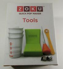 ZOKU Quick Pop Maker 8 Piece Tools with Instructions