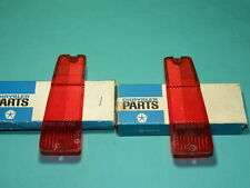 NOS Mopar 1971 Dodge Polara, Monaco Rear Marker Lens Set