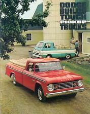 1966 1967 Dodge Full Line Pickup Truck Brochure my3905