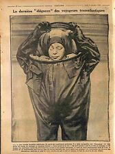 Clothing Float Vêtement Flotteur Water-Proof de la Mer US Navy Marine 1916 WWI