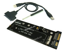 Sintech 7+17pin SATA card+USB cable for SSD of 2012 year MACBOOK Air PRO Retina