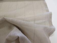 Marron/gris élégant & soft ridged écharpe/robe de tissu. (transparent)