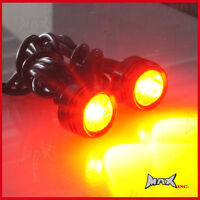 Universal Auxiliary Red CREE LED Projector / Fog / Brake / Stop / Marker Lights