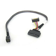 SFF-8643 to U.2 SFF-8639 with 15 Pin SATA Power Connector‌