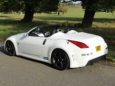 Chargespeed Style Side Skirts for Nissan 350z 2003-2009, fibreglass