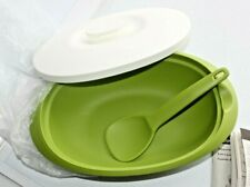 NEW Tupperware Essentials Rice Server with Cover & Ladle 7 1/2 Cups