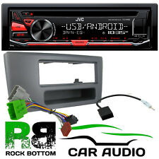 VOLVO S60 2000 - 2004 JVC CD MP3 USB AUX Car Stereo & 1 Din Fascia Fitting Kit