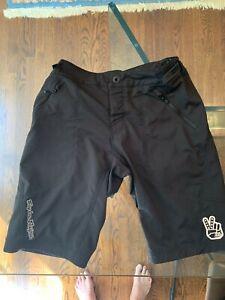 "Troy Lee Designs Skyline Mountain Bike Shorts Shell Size 34"""