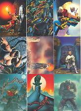 RICHARD CORBEN 1993 COMIC IMAGES COMPLETE BASE CARD SET OF 90 FA