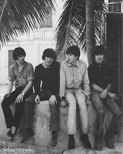 "BEATLES   March 1965 in the Bahamas    8""x10""  B & W  Photo Copy BEA-18"
