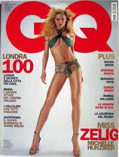 GQ-'03-MICHELLE HUNZIKER,Salma Hayek,Robbie Williams,Laura Sanchez,Bernard Tapie