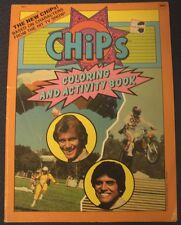 Chips TV Coloring & Activity Book, 1983, UNUSED!  Coloring Book