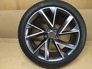 "Skoda Superb MK3 19"" Alloy Wheel 3V0601025AP & 235/40r19 Potenza S001 Tyre 7mm"