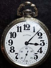Size, 21 Jewel Pocket Watch Beautiful 1926 Illinois Bunn Special 16