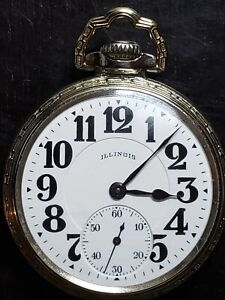 Beautiful 1926 Illinois Bunn Special 16 Size, 21 Jewel Pocket Watch