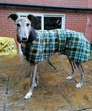 double polar fleece GREYHOUND  dog rug / coat choice colours   handmade