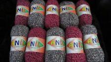 Anil Kristal Fashion Yarn aran/chunky ? red/grey  1kg