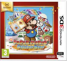 Paper Mario: Sticker Star Select - ITA Nintendo 3DS NUOVO - SIGILLATO  [3DS0401]